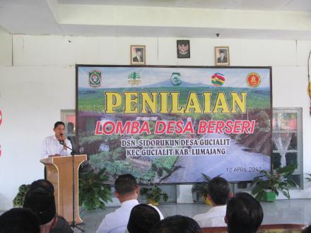 Penilaian Lomba Desa Berseri Tingkat Propinsi