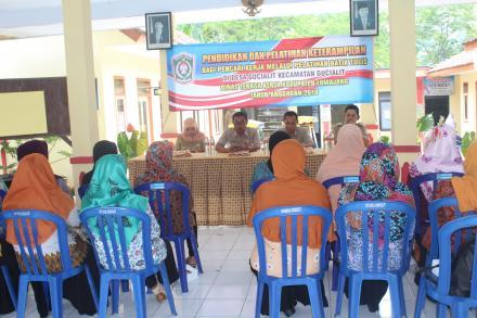Pembukaan Pendidikan dan Pelatihan Batik Tulis
