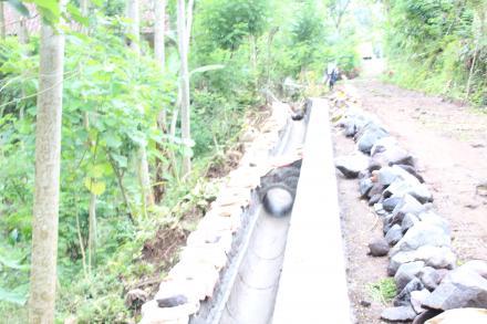 Pembangunan Talud Dusun Sidomulyo
